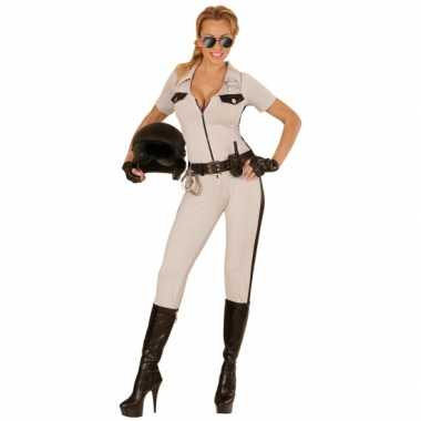 Highway politie beige pak voor dames