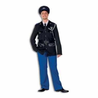 Politie pakje polyester voor heren