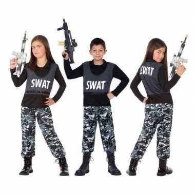 Politie swat verkleed pak/pakje voor kinderen